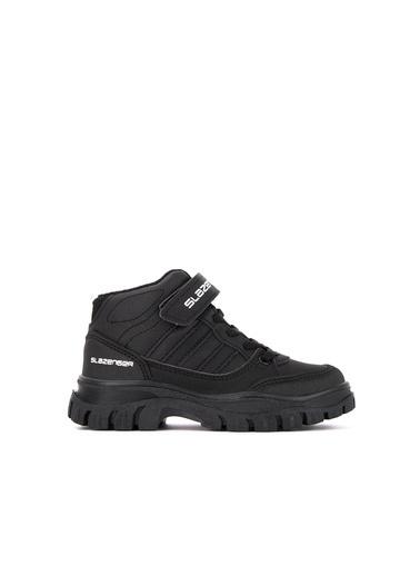 Slazenger Slazenger ROYAL Outdoor Çocuk Outdoor Bot Ayakkabı  Siyah